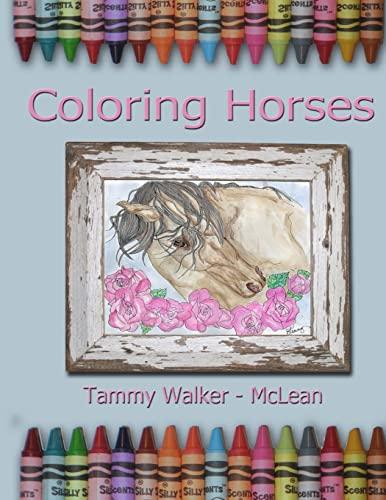 9781514132715: Coloring Horses