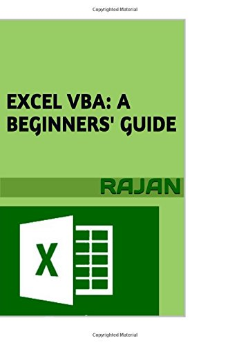 9781514144718: Excel VBA: A Beginners' Guide