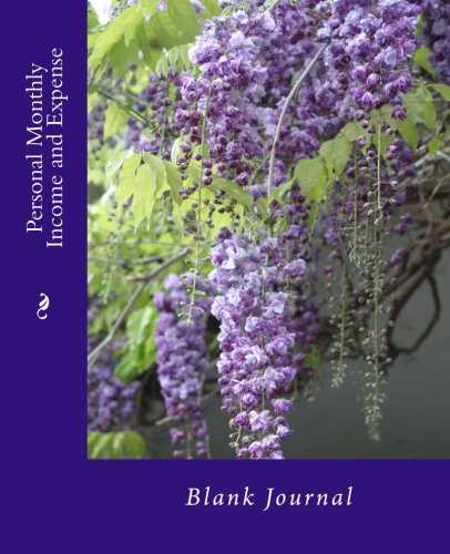 9781514158715: Personal Monthly Income and Expense: Blank Journal (Blank Accounting Journals)