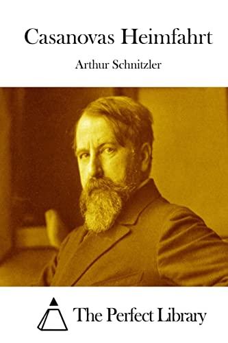 Casanovas Heimfahrt: Schnitzler, Arthur