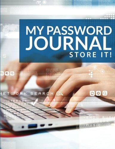 9781514170878: My Password Journal Store It!
