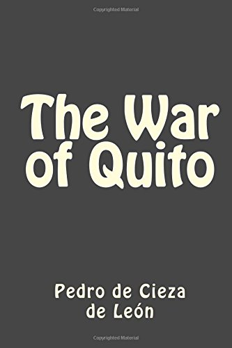 9781514171806: The War of Quito