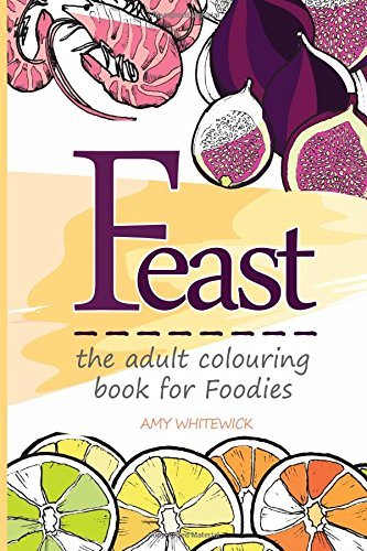 9781514173701: Feast: the adult colouring book for Foodies
