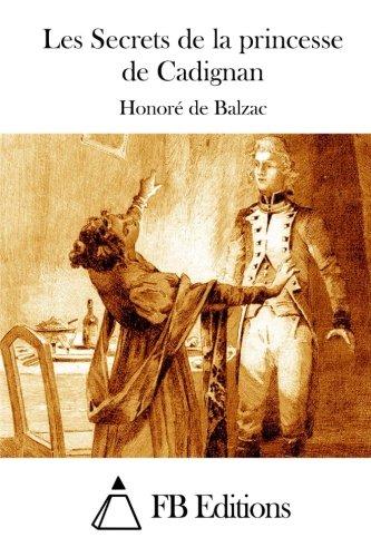 9781514184622: Les Secrets de la princesse de Cadignan (French Edition)