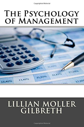 9781514188750: The Psychology of Management