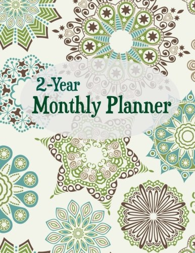 9781514193587: 2-Year Monthly Planner (Simple Planners) (Volume 6)