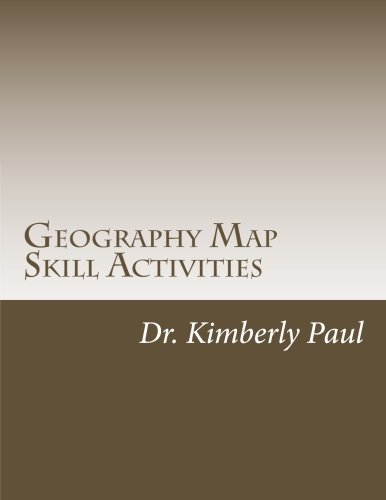 9781514198636: Geography Map Skill Activities: Warm-Ups