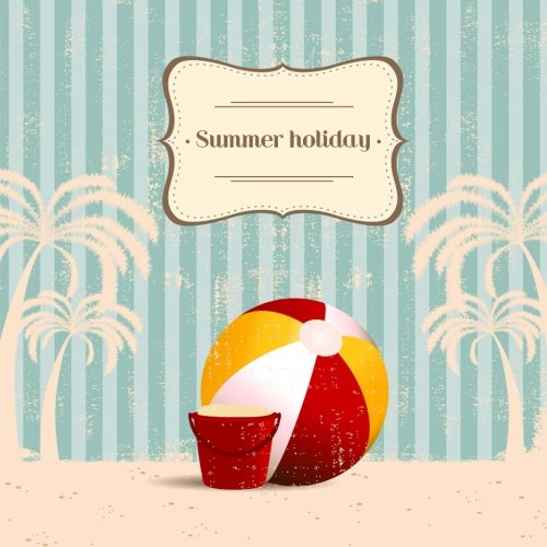9781514243350: Summer Holiday: Vintage Travel Journal & Scrapbook for Summer Vacation