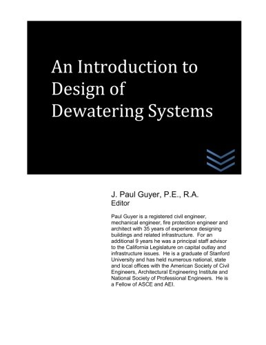 9781514244685: An Introduction to Design of Dewatering Systems