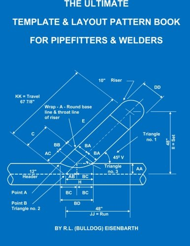 The Ultimate Template and Layout Pattern Book for Pipefitters and Welders: Rick Eisenbarth