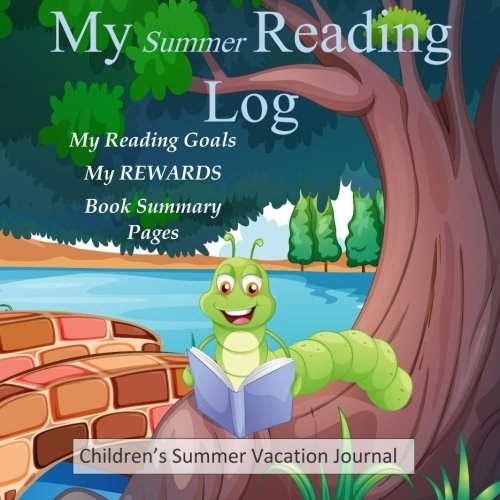 Reading Log and REWARDS: Summer Vacation Journal for Kids: Scrap Happy Memories