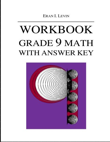9781514264942: Workbook - Grade 9 Math with Answer Key