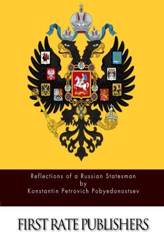 9781514265055: Reflections of a Russian Statesman
