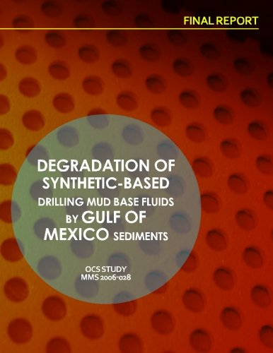 9781514284889: Degradation of Synthetic-Based Drilling Mud Base Fluids by Gulf of Mexico Sediments Final Report