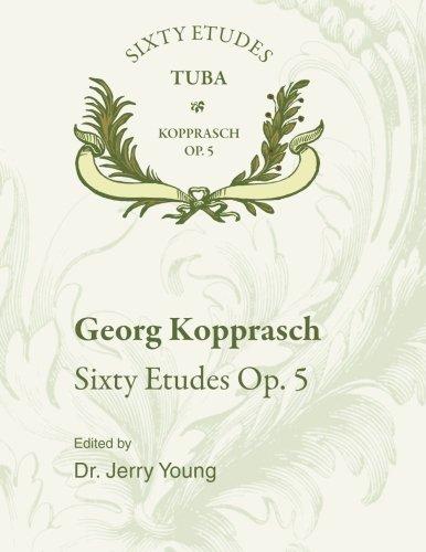 9781514287774: 60 Etudes for Tuba, Op. 5