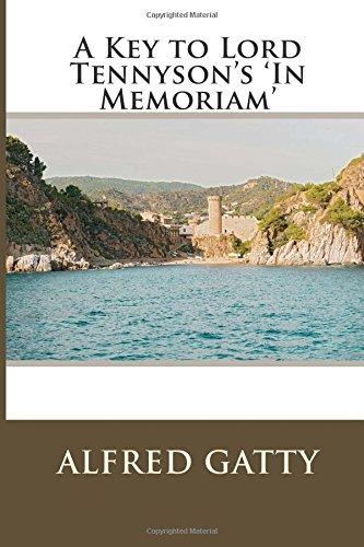 9781514291573: A Key to Lord Tennyson's 'In Memoriam'
