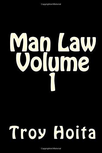 9781514295694: Man Law Volume 1