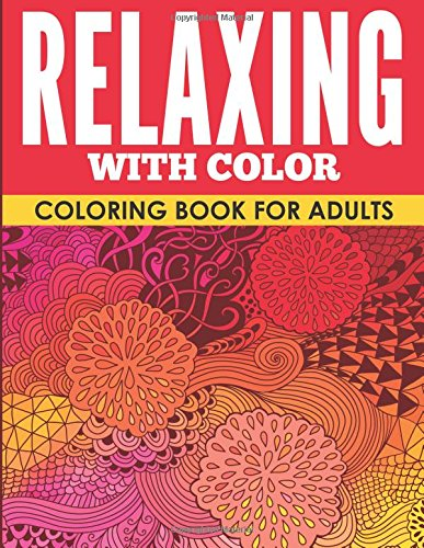 9781514311646: Relaxing with Color: Coloring Book for Adults
