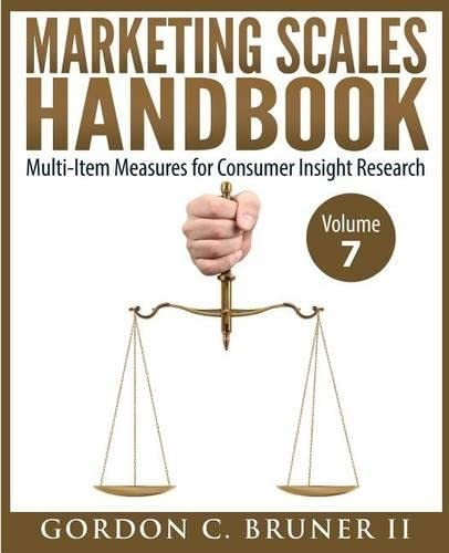 9781514321843: Marketing Scales Handbook: Multi-Item Measures for Consumer Insight Research (Volume 7)