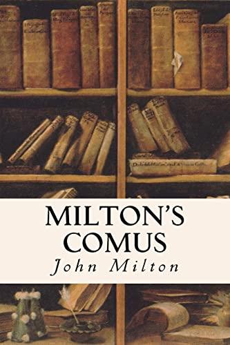 9781514352342: Milton's Comus