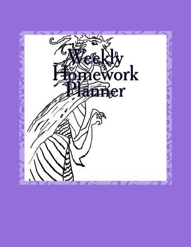 9781514352632: Weekly Homework Planner
