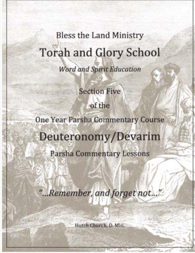 9781514353660: Deuteronomy/D'varim (One Year Torah Commentary Course) (Volume 5)