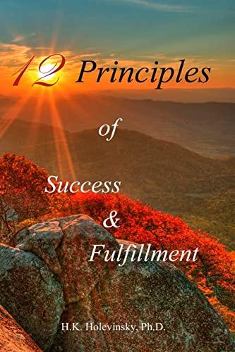 9781514362655: 12 Principles of Success & Fulfillment