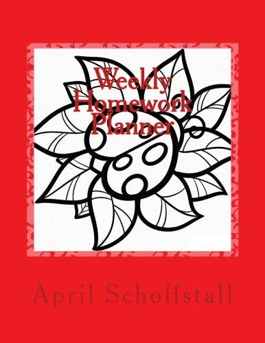 9781514363430: Weekly Homework Planner