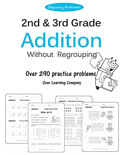 9781514371367: 2nd and 3rd Grade Addition Without Regrouping