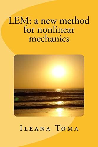 9781514393178: LEM: a new method for nonlinear mechanics