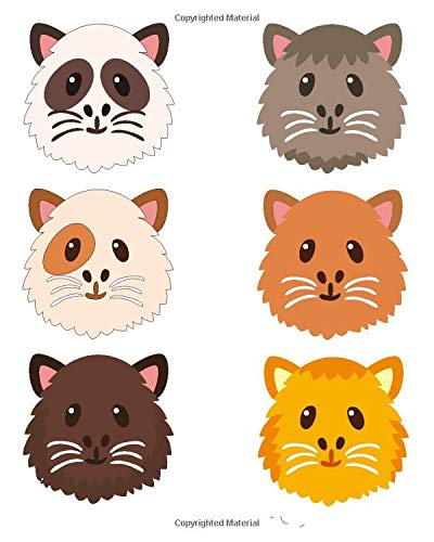 9781514393222: Guinea Pig Notebook: College Ruled Writer's Notebook for School, the Office, or Home! (8 x 10 inches, 120 pages)