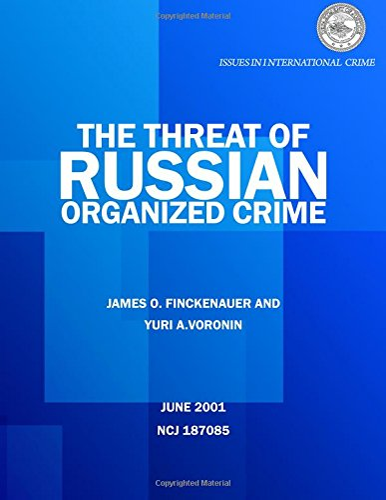 The Threat of Russian Organized Crime (Paperback): Yuri a Voronin,