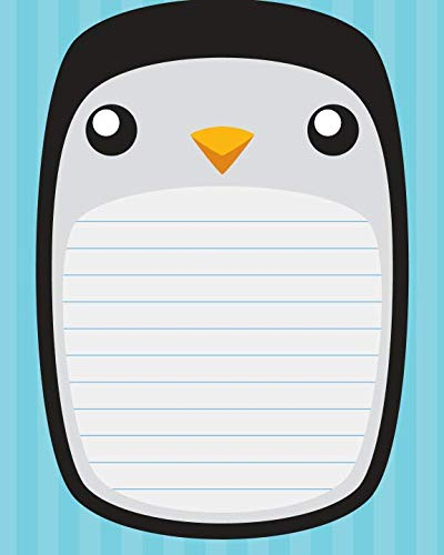 9781514393376: Penguin Notebook: College Ruled Writer's Notebook for School, the Office, or Home! (8 x 10 inches, 120 pages)