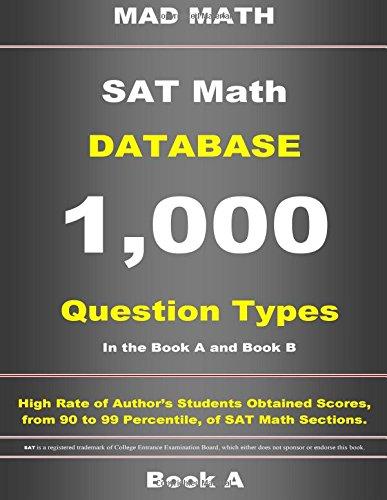 SAT Math Database Book a