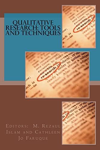 9781514612606: Qualitative Research: Tools and Techniques