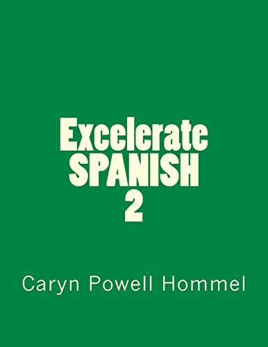 9781514634844: Excelerate SPANISH 2