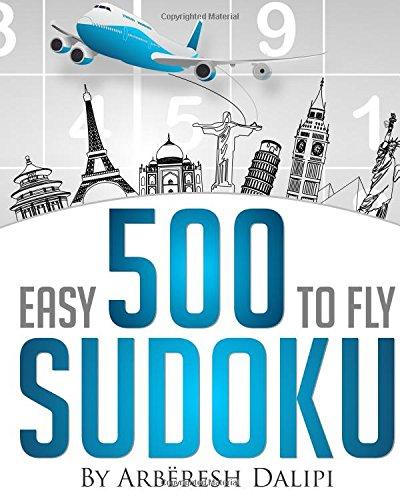 9781514648810: 500 easy to fly Sudoku