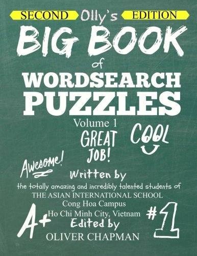 9781514654354: OLLY'S BIG BOOK OF WORDSEARCH PUZZLES - Volume 1 Second Edition