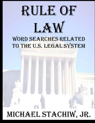 9781514654873: Rule of Law: Word Searches Related to the U.S. Legal System