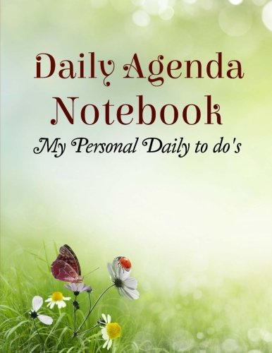 9781514657454: Daily Agenda Notebook: My Personal Daily to do's
