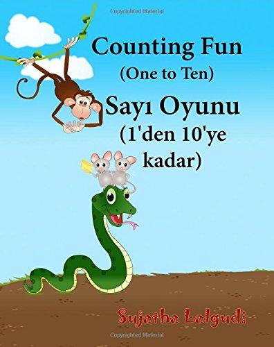 9781514668108: Children's Turkish book: Counting Fun: Turkish books for children. Baby Turkish book. Children's Picture Book English-Turkish (Bilingual Edition), ... for children) (Volume 2) (Turkish Edition)