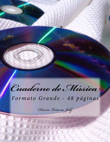 Cuaderno de Musica Formato Grande 48 Paginas: Victoria Joly