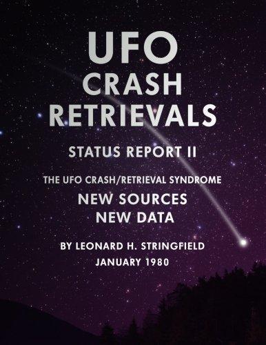 9781514679142: UFO Crash Retrievals - Status Report II: The UFO Crash Retrieval Syndrome - New Sources New Data
