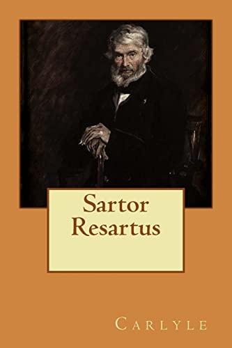 Sartor Resartus: Carlyle
