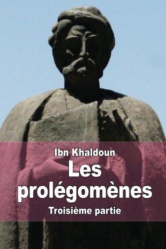 9781514712672: Les prolégomènes: Troisième partie (French Edition)