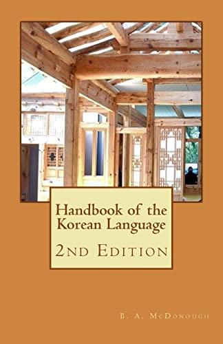 9781514717325: Handbook of the Korean Language