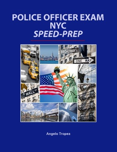 9781514724125: Police Officer Exam NYC Speed-Prep