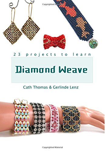 9781514737156: Diamond Weave: A complete guide to mastering the bead world's newest stitch