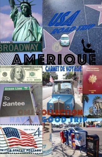 9781514743324: Amérique. Carnet de Voyage: USA Agenda de voyage. Organisateur