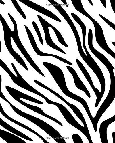 9781514746608: Zebra Print Notebook: College Ruled Writer's Notebook for School, the Office, or Home! (8 x 10 inches, 120 pages)